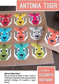 Antonia Tiger Quilt Pattern by Elizabeth Hartman EH53