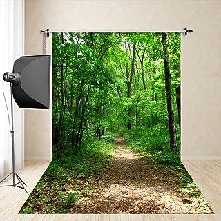 FiVan™-Sp 150x250cm RUNER fondo del bosque photography vacaciones retrato estudio de fotografía apoyos de la fotografía los niños imitación tela de seda FD-650