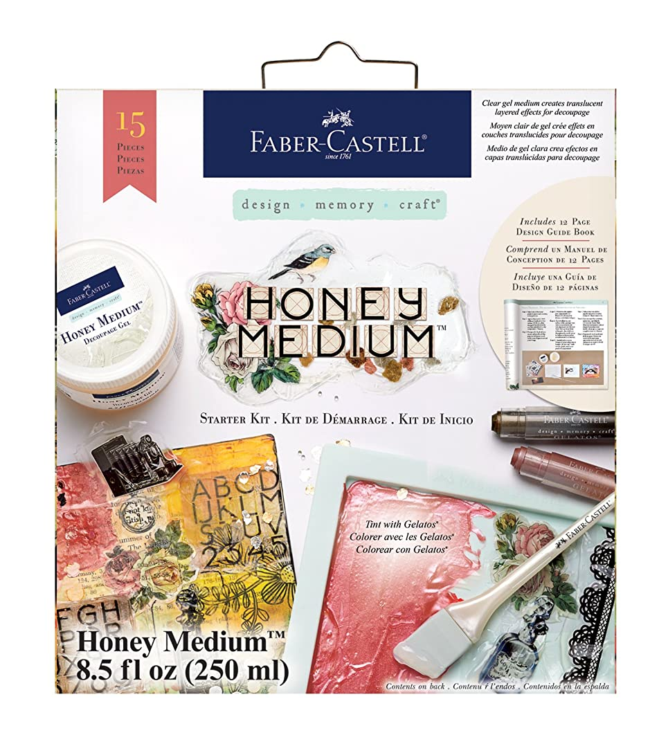 Faber-Castell Honey Medium Starter Kit