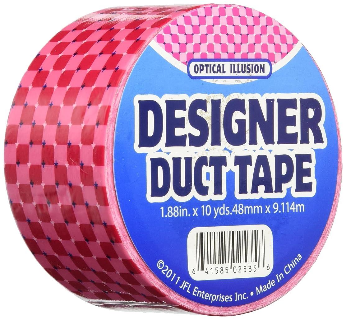 Duct Tape 2535 1.88X10 Y Optic Illusn, Multicolor