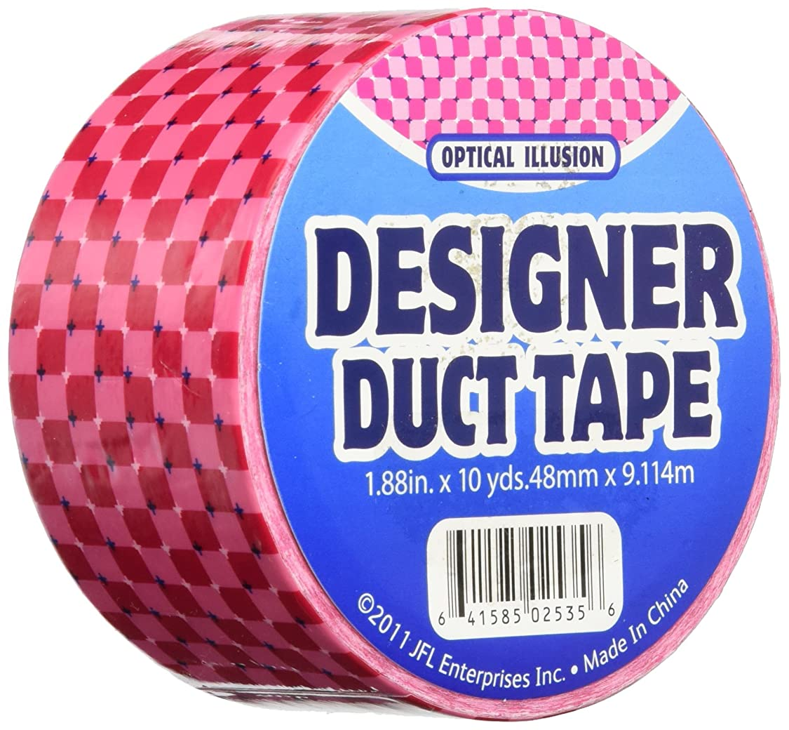 Duct Tape 2535 1.88X10 Y Optic Illusn, Multicolor ew31557986343374