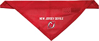 Littlearth New Jersey Devils Dog Cat Mesh Jersey Bandana S/M