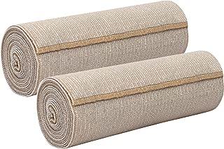 Nexskin Forever American Cotton - Comfort Elastic Bandage with Single Hook & Loop Closure - Beige,  2 Pack