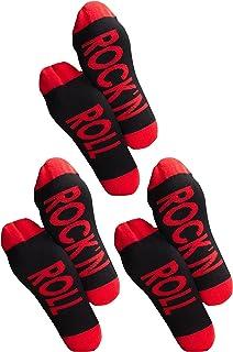 Clark Crown, 1 o 3 pares de calcetines para hombre con frases divertidas, divertidos calcetines de regalo