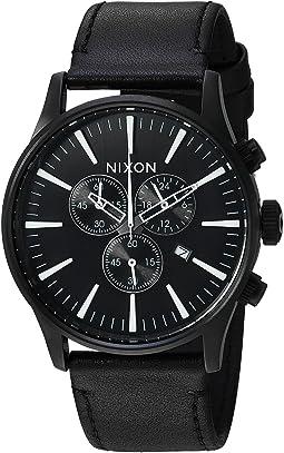 Nixon - Sentry Chrono Leather