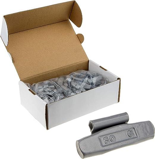 100x Premium Schlaggewichte 5g Stahl Fe S Für Stahlfelgen Auswuchtgewichte Wuchtgewichte 0 5kg 5 G Auto