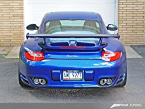 AWE Tuning 3810-42010 Polished Silver Quad Tip (for 997.2 Turbo and Turbo S)