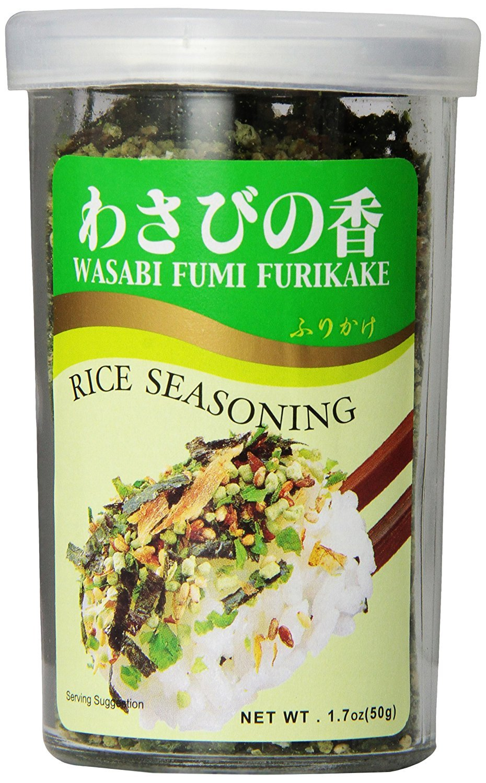 JFC Wasabi Furikake Rice Seasoning Max 87% OFF Outlet ☆ Free Shipping 1.7 Ounce