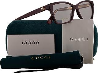 fb28b4b17c1 Gucci GG0312O Eyeglasses 52-14-140 Burgundy w Demo Clear Lens 003 GG