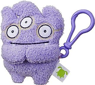 "Hasbro Uglydolls Tray to-Go Stuffed Plush Toy with Clip, 5"" Tall"