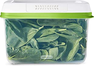 Rubbermaid FreshWorks Saver, Large Produce Storage Container, 18.1-Cup, Clear