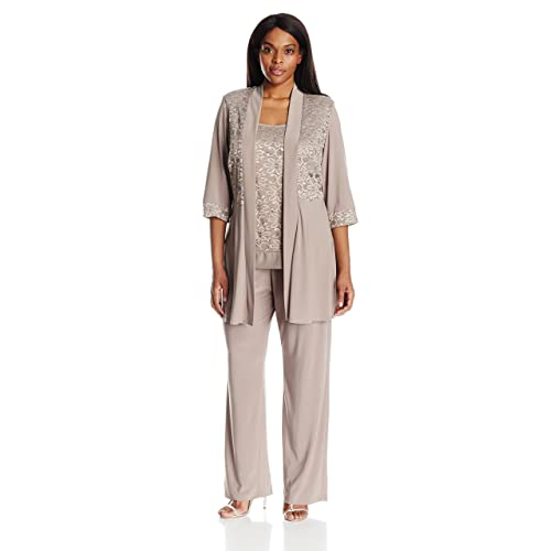 2a3cbe91fa5 Mother of The Bride Pant Suits Plus Size  Amazon.com
