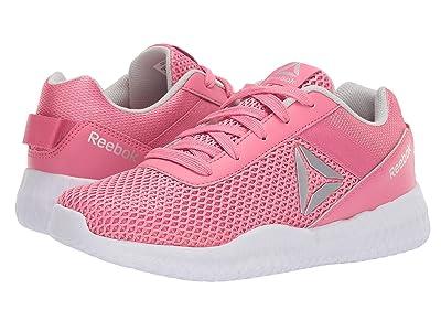 Reebok Kids Flexagon Energy (Little Kid/Big Kid) (Pink/Silver/White) Girls Shoes