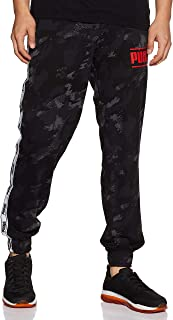 PUMA Men's CAMO Pack AOP Tape Pants, Iron Gate/AOP