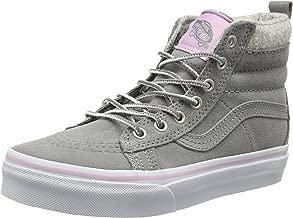Vans Girl's Sk8-Hi (MTE) Wild Dove/True White Skateboarding Shoes VN0A2XSNK5O