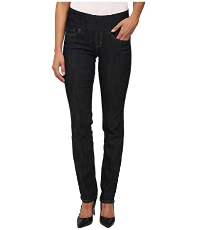 Jag Jeans Peri Pull-On Denim Straight Leg Jeans (Late Night) Women