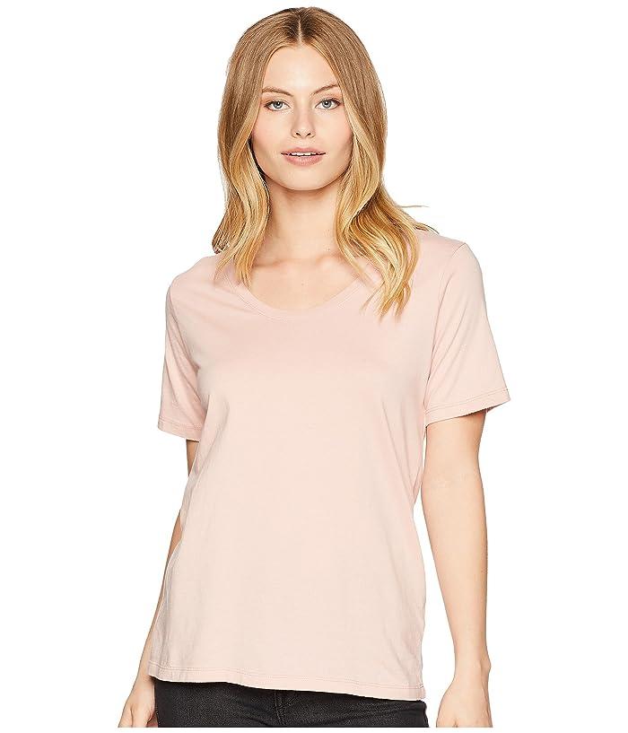 Richer Poorer Scoop V Tee (Blush) Women's T Shirt