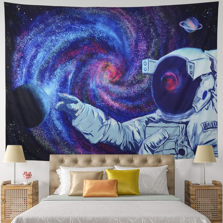 Leofanger Astronaut Tapestry Detroit Mall trend rank Plan Galaxy Space