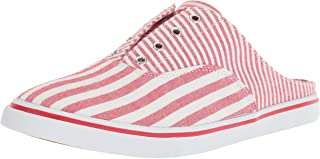 Ralph Lauren Lauren Women's Jaida Sneaker, red/White
