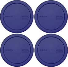 322-PC 1 Quart Blue Mixing Bowl Lid - for 322 1 Quart MIXING Bowl - 4 Pack (Will Not Fit The Pyrex 7201 4 Cup Dish)