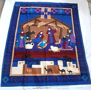 Nativity Door/Wall/Quilt Fabric Panel