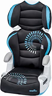 Evenflo Big Kid Amp Sprocket Booster Car Seats, Blue/Black/White