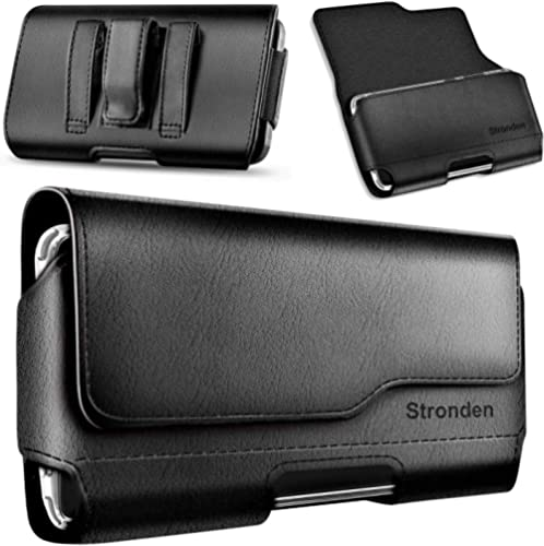 Stronden Holster for iPhone SE (2020), iPhone 8, 7, 6S Belt Case with Clip, Apple iPhone 8 Leather Belt Clip Case Hol...
