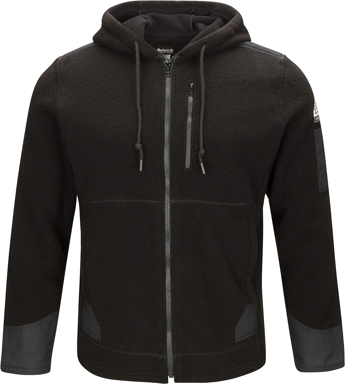 Bulwark FR Men's latest Front High quality Zip Blend Hoodie Modacrylic Fleece
