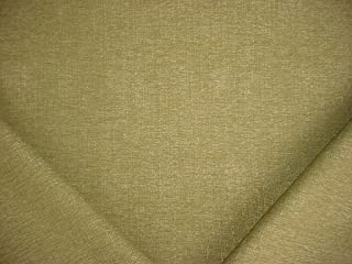 18RT3 - Metallic Basil / Sage Textured Strie Plains Weave Designer Upholstery Drapery Fabric - By the Yard