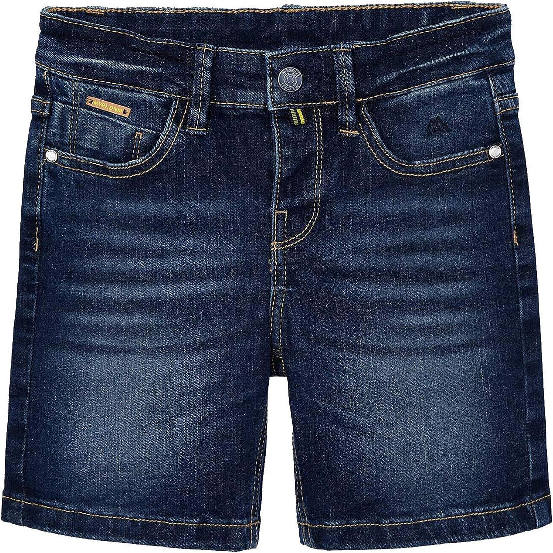 Mayoral - Denim 5 Pocket Free Shipping New Bermuda for Shorts Boys Dark 3232 Credence