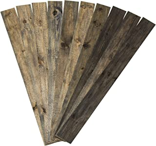 Rustic Grove Wood Planks (Mixed Brown)
