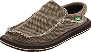 US, Natural 45 M EU // 12 D M Sanuk Mens Vagabond Tripper Slip-on Loafer