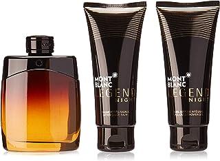 Montblanc Legend Night Coffret: Eau De Parfum Spray 100ml/3.3oz + After-Shave Balm 100ml/3.3oz + All-Over Shower Gel 100m...