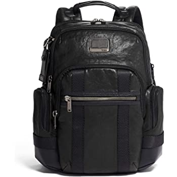 Tumi Men's Alpha Bravo Nathan Backpack, Black, One Size