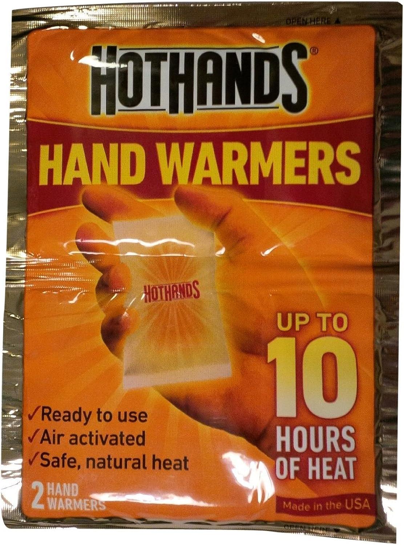 Heatmax Hot Hands Mini Hand Warmer, Fresh 2015 Stock 10-Pairs
