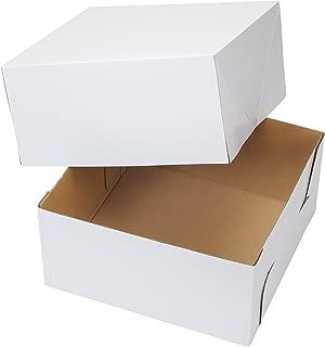 Wilton 12-Inch White Cake Box (Pack of 2)