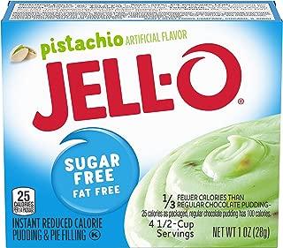 JELL-O Pistachio Sugar Free Instant Pudding & Pie Filling Mix (1 oz Box)