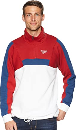 Classics Quarter Zip Fleece Sweatshirt