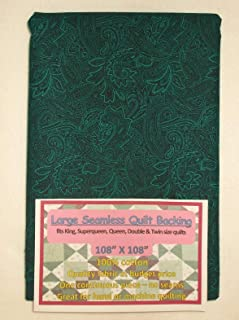 Quilt Backing, Large, Seamless, Green, C49638-702