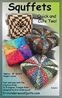 Squffets - Quick and Cute Two! Square Tuffet Pattern by Erin Underwood Quilts