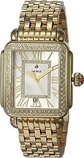 Michele Women's Deco Madison Watch Gold