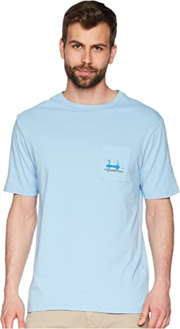 Vineyard Vines - Short Sleeve Sunset Flats Pocket Tee