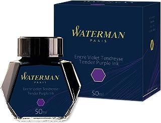 Waterman S0110750 Fountain Pen Ink, Tender Purple, 50ml Bottle