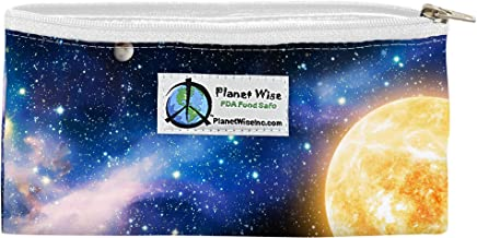 Planet Wise Reusable Zipper Sandwich and Snack Bags, Snack, Far Far Away Poly