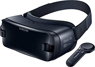 Samsung Gear VR Headset with Controller (2017) SM-R325NZVAXAR (Renewed)