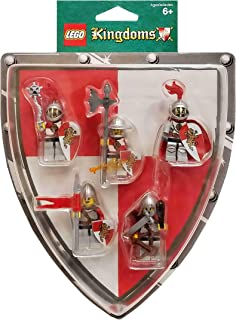 LEGO Kingdoms Mini Figure 5Pack Set #852921 Red Lion Knights Battle Pack