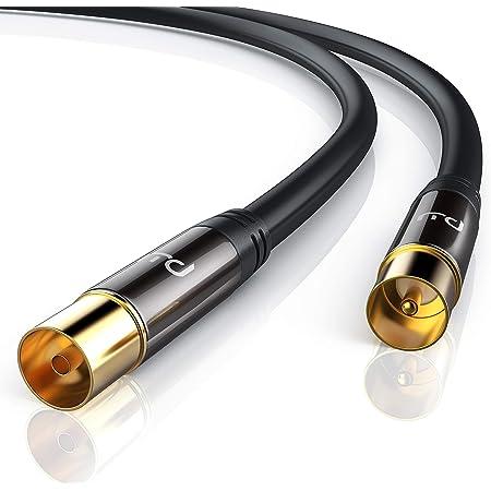 Kabeldirekt Antennenkabel 1m Elektronik