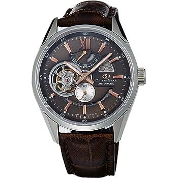 [オリエント時計] 腕時計 オリエントスター セミスケルトン 機械式 自動巻(手巻付) WZ0201DK ブラウン