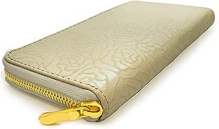 M&C - Rosebud Design Zip Around Women's Wallet - WA1020