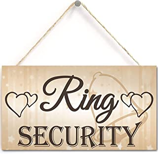 Shabby & Chic Wedding Sign Ring Security Pageboy Best Man Vintage Plaque Bride Marriage Wedding Registry Gift List